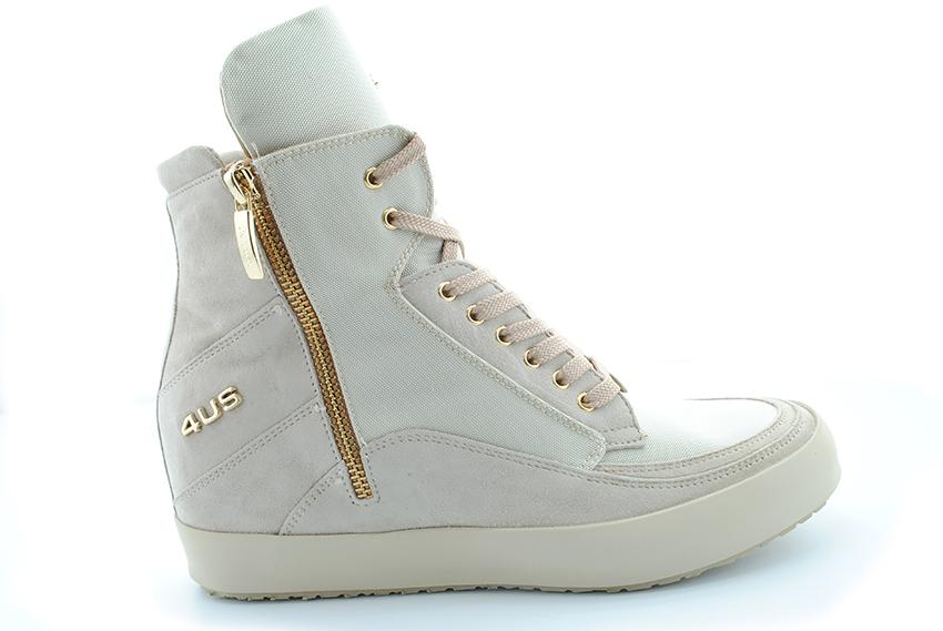 sneakers alte con zeppa hogan