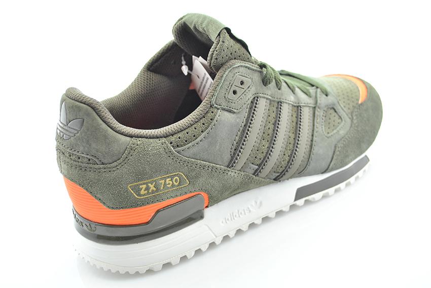 adidas zx 750 verde militare