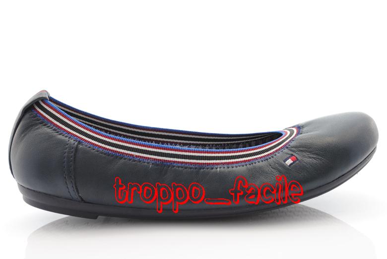 p12 scarpe tommy hilfiger shoes ballerina fw56813512. Black Bedroom Furniture Sets. Home Design Ideas